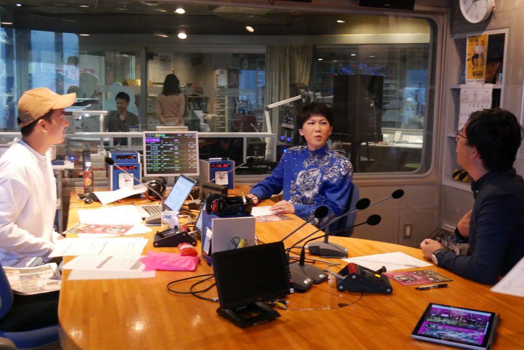 SBSラジオ「聴くディラン」そのまんま美川生放送の様子