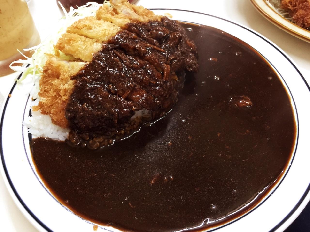 カツカレー発祥の老舗「南海」黒カレー!人生で一度は食べておきたい大満足グルメ