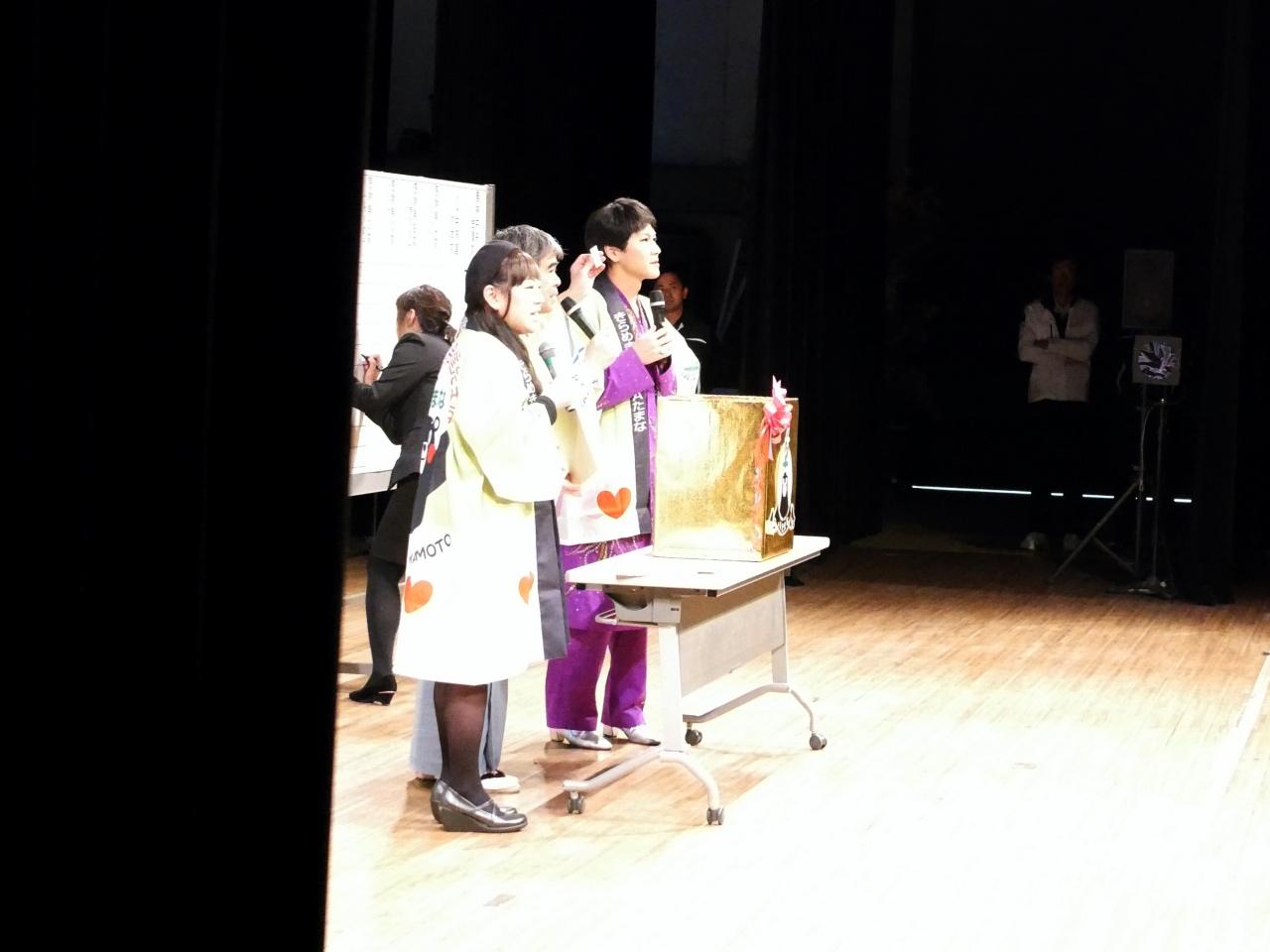 くまモンのハッピを着こなす芸能人!熊本県玉名市にお邪魔しました。