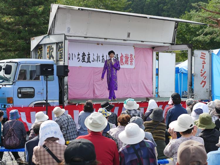 たねいち産直ふれあい祭り 20周年 そのまんま美川ショー
