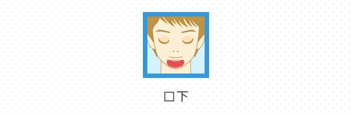 口下(顎髭)