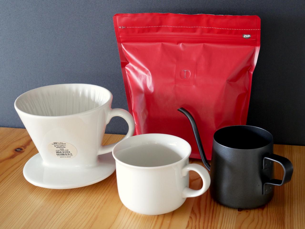 無印良品男子が揃えている「美味しいコーヒー」のための道具