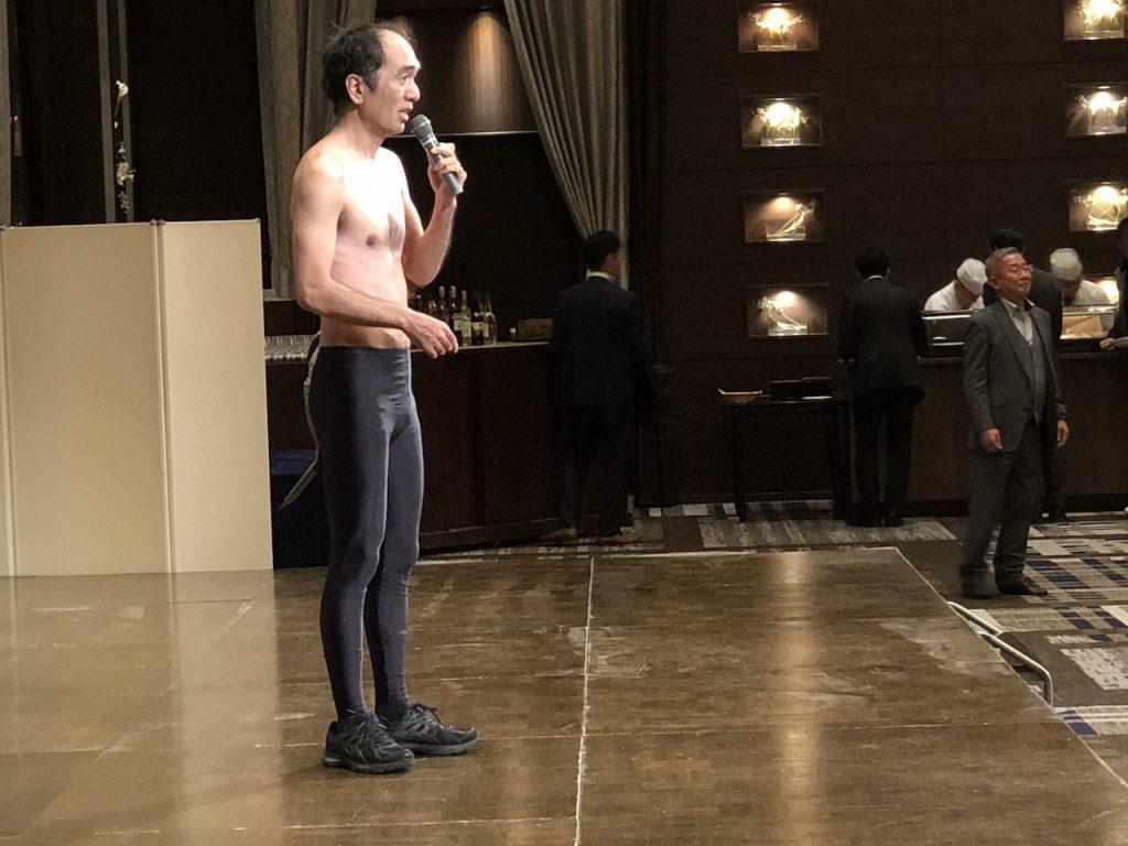 ディナーショーのサプライズゲストは「江頭2:50」さん