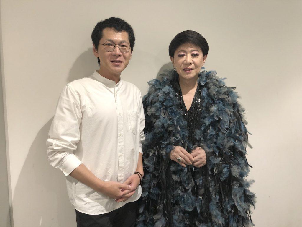 終演後、美川憲一さんの楽屋にご挨拶お伺いさせていただきました|そのまんま美川オフィシャルブログ