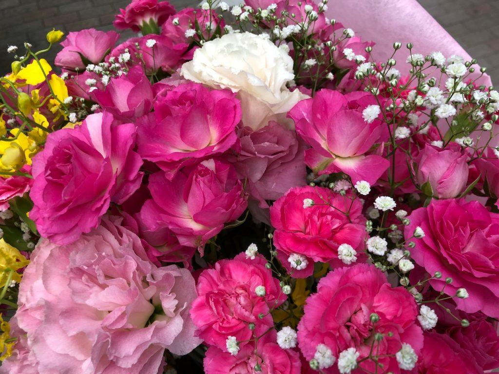 素敵な花束をちょうだいしました|そのまんま美川オフィシャルブログ