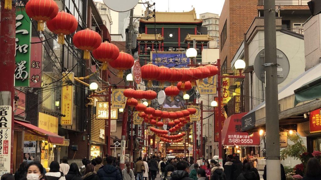 クリスマスで賑わう横浜中華街|そのまんま美川オフィシャルブログ