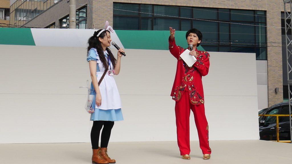 ほら、雨降りませんでしょ?!13時【人宿町人情祭2019】開幕