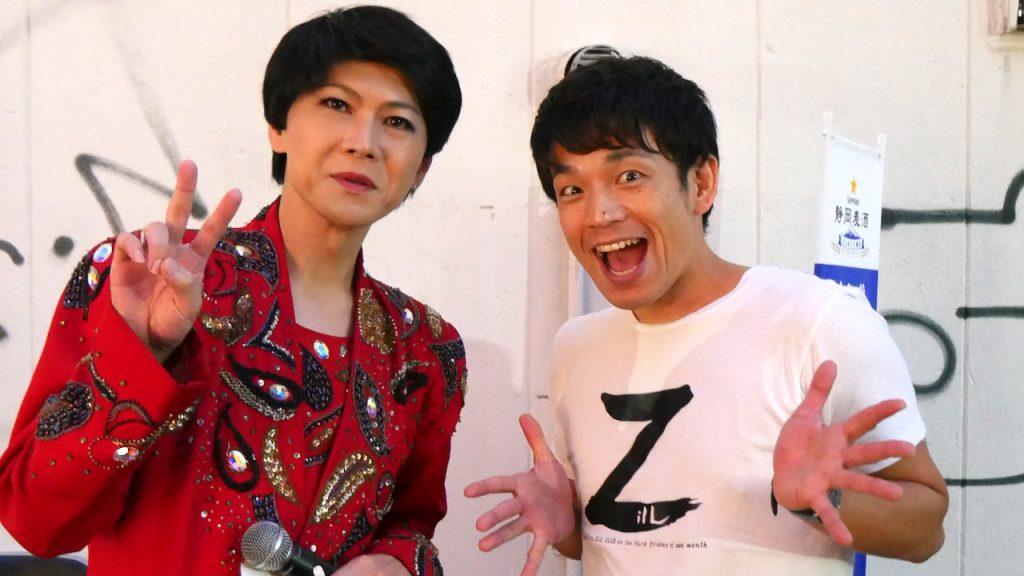 シンガーソングライター・ZilLさんとそのまんま美川