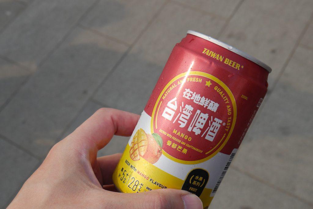 マンゴービール|ビールだけどフルーツカクテルみたいなライトな味わい