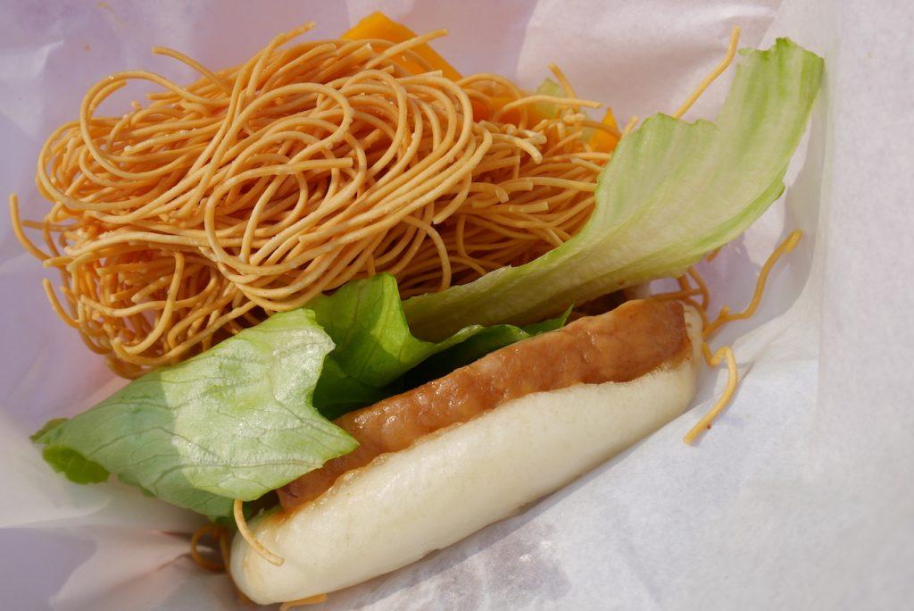 台湾刈包(角煮バーガー)|小腹を埋めるのにぴったりファストフード